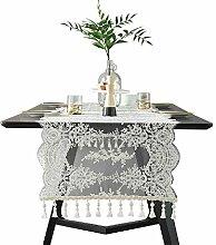 Tischdecken Tischläufer Aus Spitze für Küche