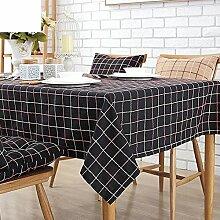Tischdecken/Tuch/Amerikanische Baumwolle und Leinen Tischdecke/Tischdecke decke/TV-Schrank Tuch/Tischdecken/ Rechteck Tischdecke-G 120x170cm(47x67inch)