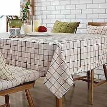 Tischdecken/Tuch/Amerikanische Baumwolle und Leinen Tischdecke/Tischdecke decke/TV-Schrank Tuch/Tischdecken/ Rechteck Tischdecke-D 135x180cm(53x71inch)