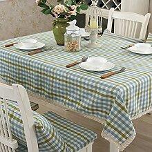 Tischdecken/Tuch/Baumwolle Garten Tischdecke/Der