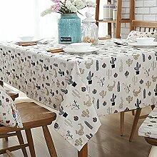 Tischdecken/Tuch/Cartoon Baumwolle Tischdecke/ Im amerikanischen Stil Tischdecken Couchtisch/Tuch/Tischdecken/Tischdecken-A 130x180cm(51x71inch)