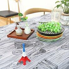 Tischdecken Vermischt Streifen Kaffeedecke Tuch