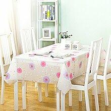 Tischdecken/Wasserdichte Garten Tischdecke/Tischdecken/Tischdecke decke/Wasser und Öl Beweis hitzebeständige Tischdecke/ Einweg-Tischdecken/European-Style Tischdecken-N 137x183cm(54x72inch)
