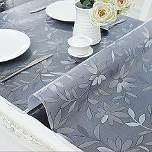 Tischdecken Weiches Glas Transparent PVC