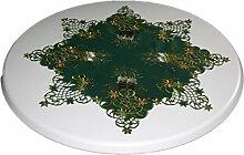 Tischdecken --Weihnachten-- Espamira Stern Grün