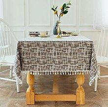 Tischdeckenbeschwerer Grau-Orange