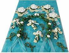 Tischdeko Set Dekoration Tischschmuck türkis