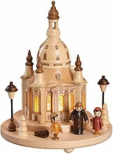 Tischdekoration Beleuchtete Dresdener Frauenkirche