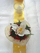 Tischdekoration für ca. 60 Pers. Orchidee zur Hochzeit Tischdeko TD0046
