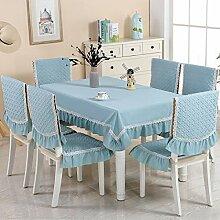 Tischdekoration für den europäischen Stil der