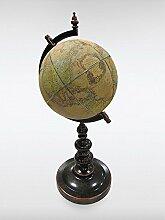 Tischdekoration Globus