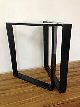 Tischgestell Stahl TR80s 500mm breit Tischuntergestell Tischkufe Kufengestell