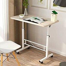 Tischhöhe verstellbarer Rolltisch, mobiler Laptop