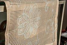 Tischläufer (2Stk.) champagner,ca.40x135cm,