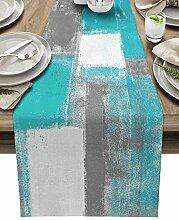 Tischläufer, Baumwoll-Leinen, 91,4 cm lang,