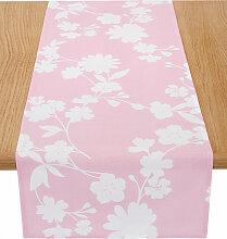 Tischläufer  Birte, rosa