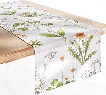 Tischläufer Botanik, grün