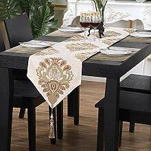 Tischläufer, Chenille Europäische Muster
