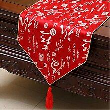 Tischläufer Chinesische Klassische Muster Satin