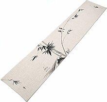 Tischläufer Chinesischer Stil Tinte Bambus Und