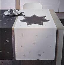 Tischläufer: Dekorative Sterne schmücken Ihren
