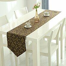 Tischläufer/dekorativer couchtisch flag/tv cabinet fabric/bett-runner-A 30x150cm(12x59inch)