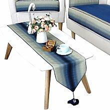 Tischläufer Einfache und reine farbe couchtisch flagge Bett flagge Bett-runner-A 30x180cm(12x71inch)