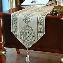 Tischläufer European günstige flower table flag Bett-runner Tee tischläufer-A 130x180cm(51x71inch)