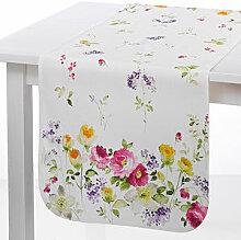 Tischläufer: Florale Tischwäsche mit