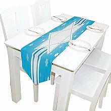 Tischläufer Home Decor, stilvolle David Stars