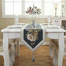 Tischläufer Jacquard Tischläufer Küche Leinen