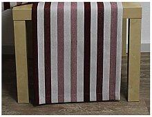 Tischläufer, Läufer MARLENE STREIFEN 40x130cm rot weiß Hossner (20,95 EUR / Stück)