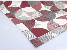 Tischläufer, Läufer MELANIE 50x150cm weiß rot
