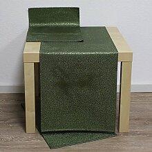 Tischläufer Läufer ROCKS 40x136cm grün Hossner WA (11,50 EUR / Stück)