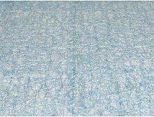 Tischläufer Läufer Tischdecke TRENTO Netzoptik 45x140cm aqua blau Hossner (15,95 EUR / Stück)