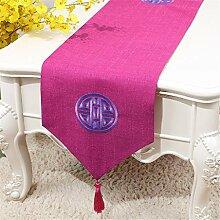 Tischläufer Luxus chinesischen Stoff Dekoration