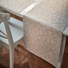 Tischläufer mit glitzernder Sternenvielfalt für