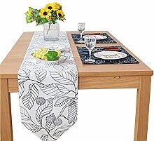 Tischläufer Modern Leinen Baumwolle