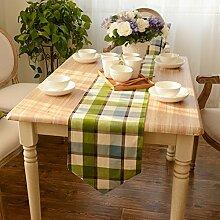 Tischläufer moderne simple mode tischläufer und tuch europäisch chinesische art amerikanisches tischdecke stoff-tischdecke bett-runner-A 30x180cm(12x71inch)