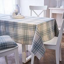Tischläufer: Robuste Karo-Tischwäsche in
