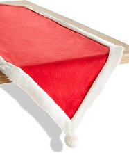 Tischläufer Santa, rot