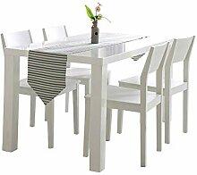 Tischläufer Seltsame Mode Gestreiften Baumwolle
