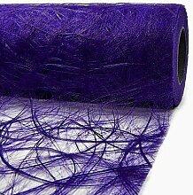 Tischläufer Sizoweb 20cm breit x 25m lang - LILA