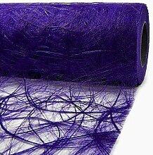 Tischläufer Sizoweb 30cm breit x 20m lang - LILA