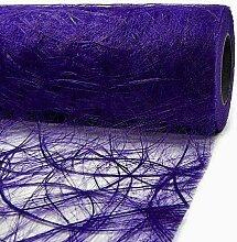 Tischläufer Sizoweb 30cm breit x 25m lang - LILA