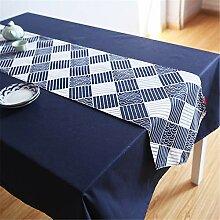 Tischläufer Tischdecke Mode dekorative