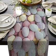 Tischläufer Tischläufer farbig Pebble Hochzeit