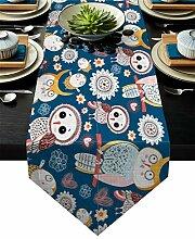 Tischläufer Tischläufer Malerei Dekoration Party