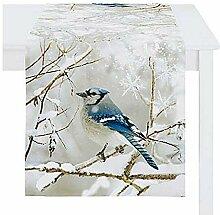 Tischläufer Vogel Herbst Winter Apelt ca. 46 x
