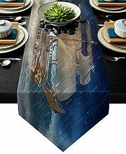 Tischläufer Wave Segelboot Hochzeit Party
